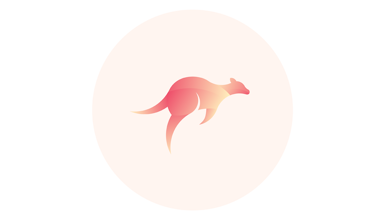 Colorful animal logos based on golden ratio - 14b