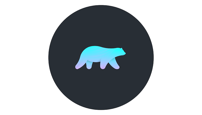 Colorful animal logos based on golden ratio - 24b