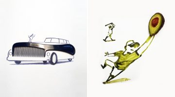 creative-sketches-drawings-using-everyday-objects