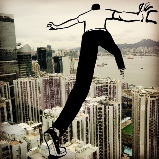 Clever, creative drawings completed using everyday objects - 7