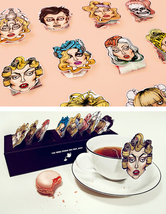 Creative teabag packaging - 21