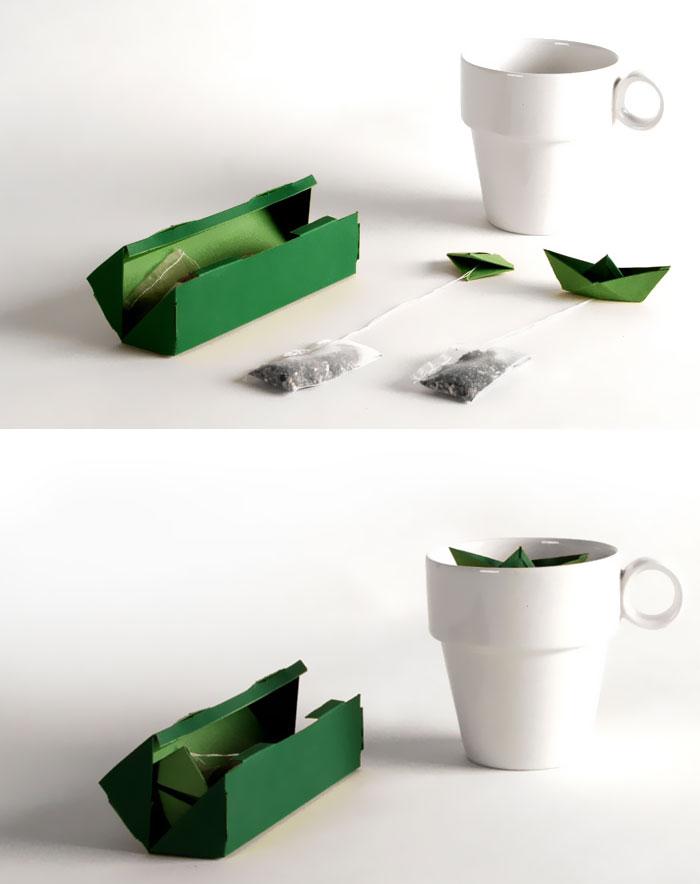 Creative teabag packaging - 9