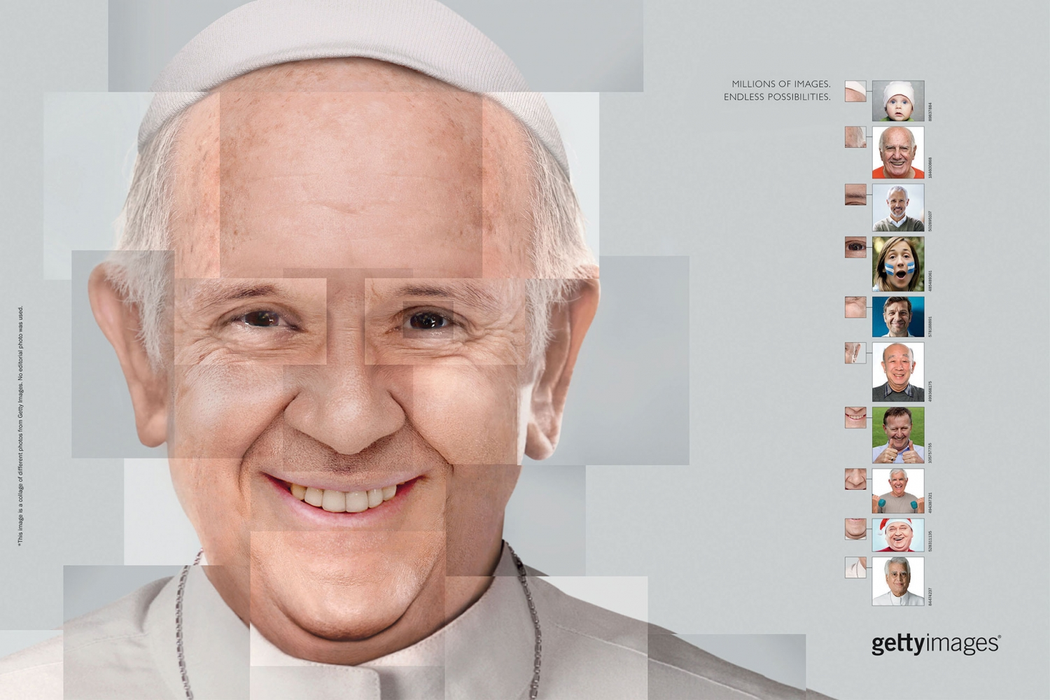 Getty Images - Endless Possibilities - Pope Francis