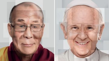 Brilliant Campaign From Getty Images Shows Famous Faces Made Entirely Out Of Stock Photos