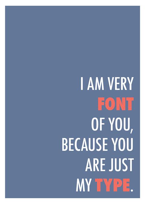 Graphic design & typography funny puns - 5