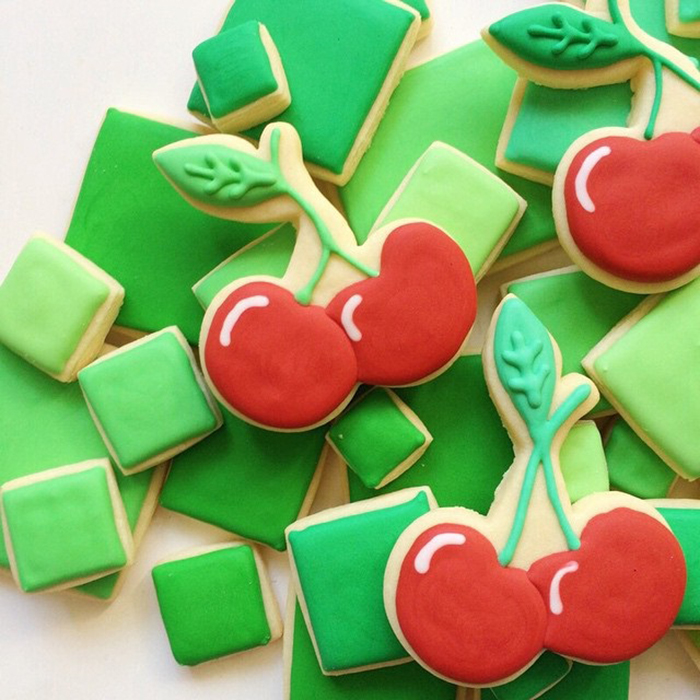 Graphic designer's creative custom cookies - 20