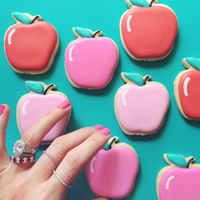 Graphic designer's creative custom cookies - 21
