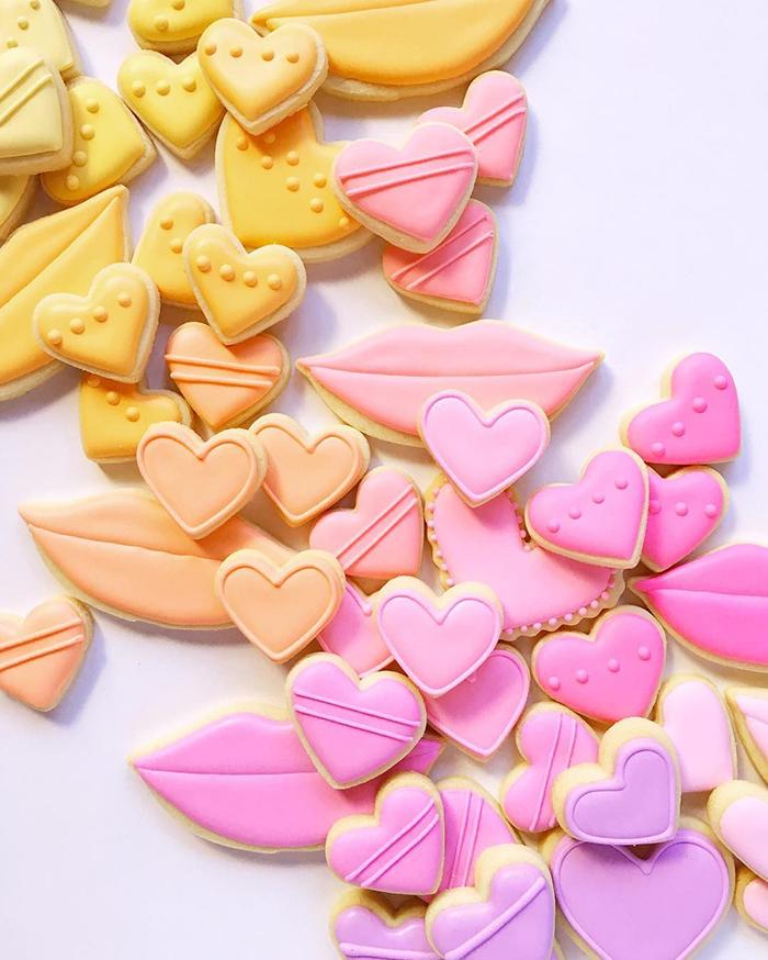 Graphic designer's creative custom cookies - 25