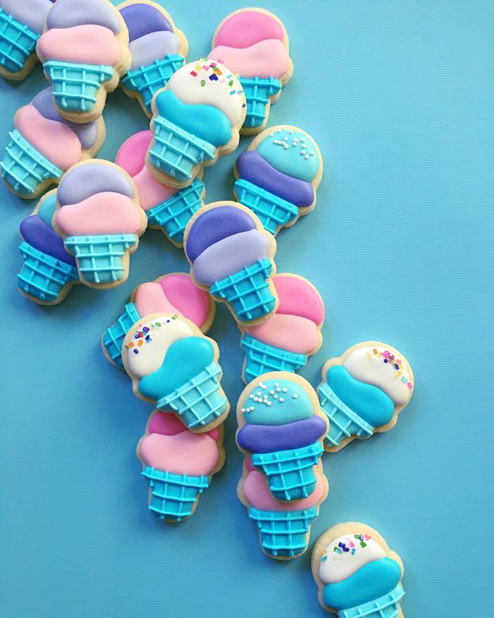 Graphic designer's creative custom cookies - 5