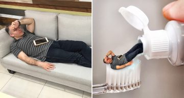 CEO Falls Asleep At Work, Employees Photoshop Him Into Funny Memes