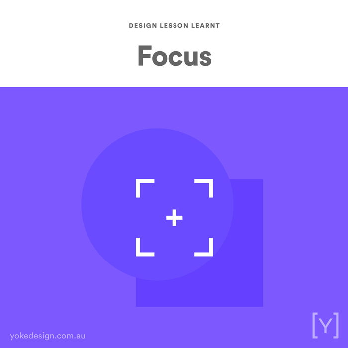 Design lessons and tips from agency life - Focus