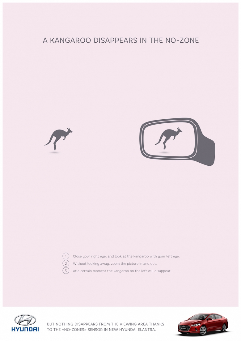 Clever Hyundai Ads Make Objects Disappear When You Move