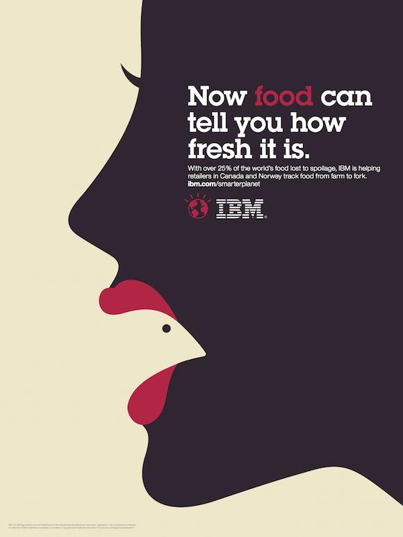 Negative space art / design / illustrations / ads - IBM: Smarter Planet (4)