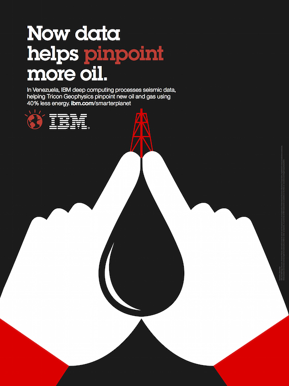 Negative space art / design / illustrations / ads - IBM: Smarter Planet (7)