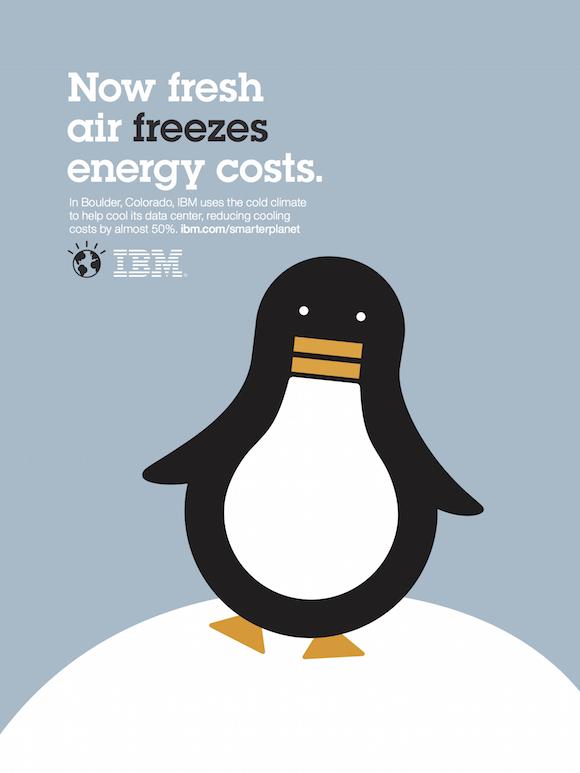 Negative space art / design / illustrations / ads - IBM: Smarter Planet (17)