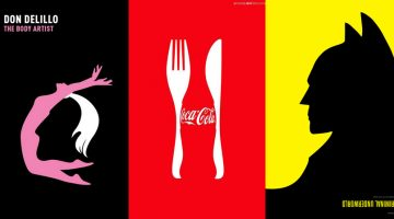 20+ Amazing Illustrations That Use Negative Space Brilliantly