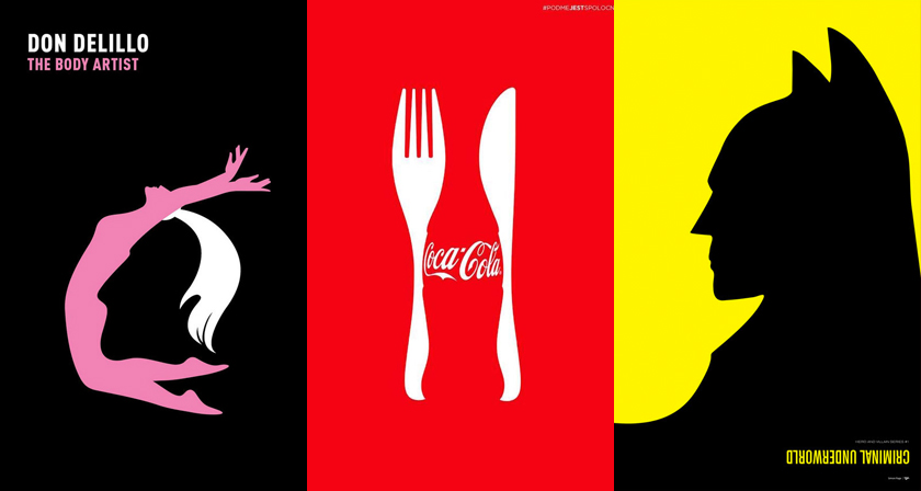 Space In Art And Design : Brilliant negative space illustrations for design