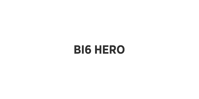 Typographic movie names/titles/logos - Big Hero