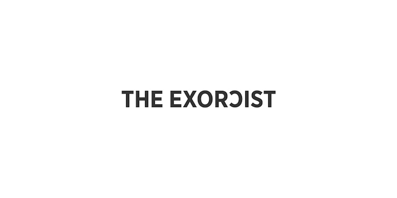 Typographic movie names/titles/logos - The Exorcist