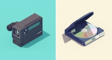 Beautiful 3D Animations Of '90s Gadgets Made With Cinema 4D, After Effects And Photoshop