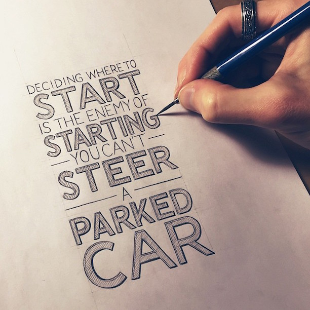 Beautiful, inspiring hand-lettered tips for creatives - 11