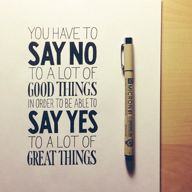 Beautiful, inspiring hand-lettered tips for creatives - 2