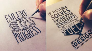 Beautiful, Inspiring Hand-Lettered Tips For Creatives