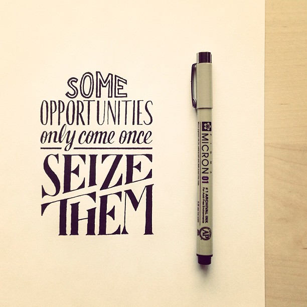 Beautiful, inspiring hand-lettered tips for creatives - 6