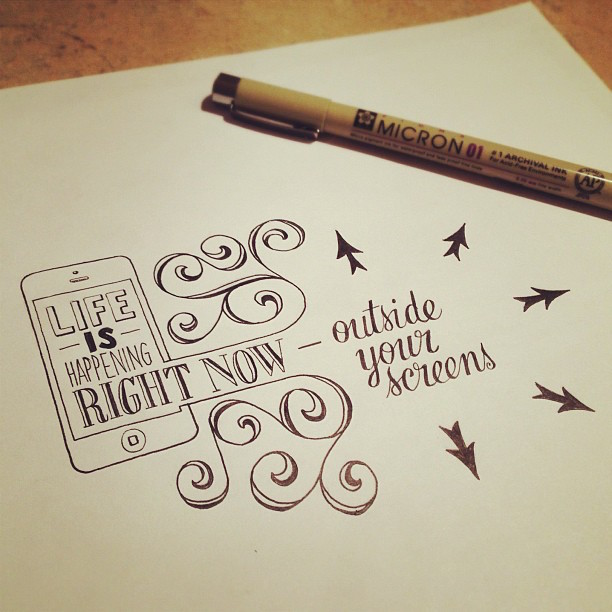 Beautiful, inspiring hand-lettered tips for creatives - 9