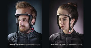 These Brilliant Ads Remind You That Wearing An Unbuckled Helmet Is As Bad As Wearing No Helmet At All