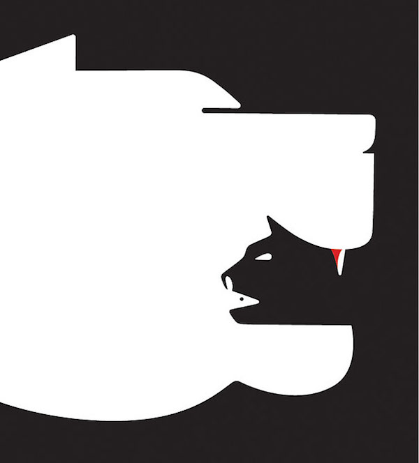 Negative Space Art - Book cover