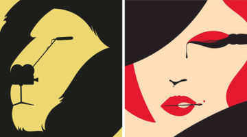 60 Brilliant Negative Space Illustrations By Noma Bar