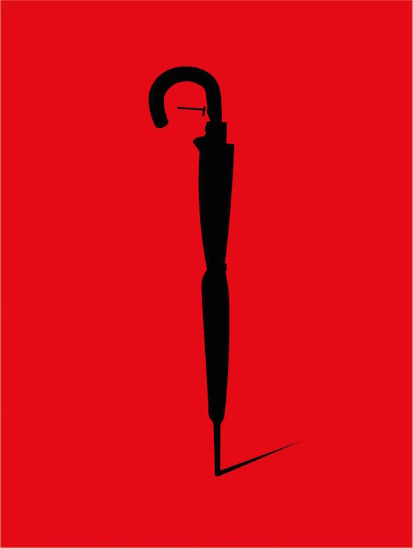 Negative Space Art - Kingsman