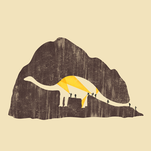 Negative space art illustrations by Tang Yau Hoong - 16