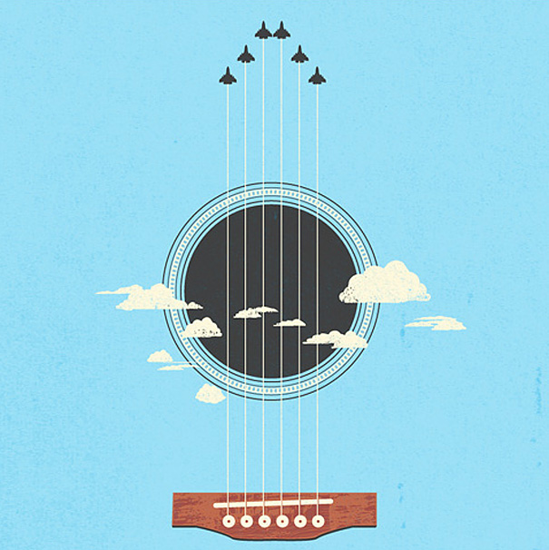 Negative space art illustrations by Tang Yau Hoong - 23