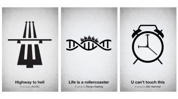 pictogram-music-posters-song-lyrics-symbols-icons