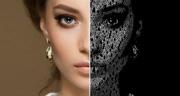 How To Transform A Face Into A Powerful Text Portrait In Photoshop
