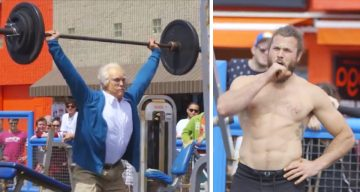 84-Year-Old Man Shocks Young Bodybuilders In This Funny Ad That's Got 70 Million Views