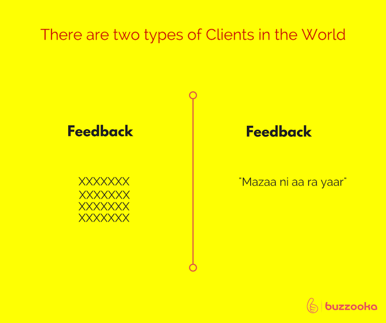 Two types of agency clients / Funny advertising, design projects - 10