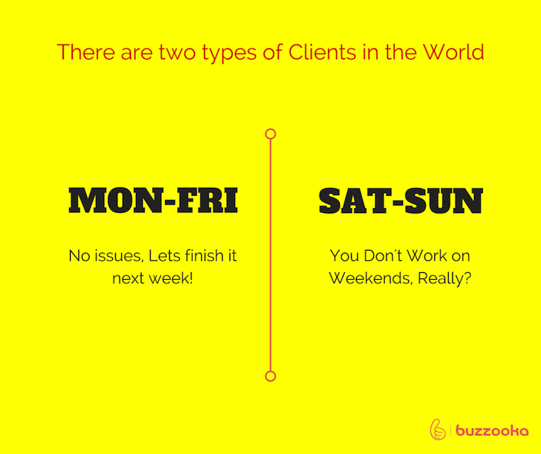 Two types of agency clients / Funny advertising, design projects - 6