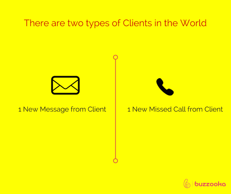 Two types of agency clients / Funny advertising, design projects - 7