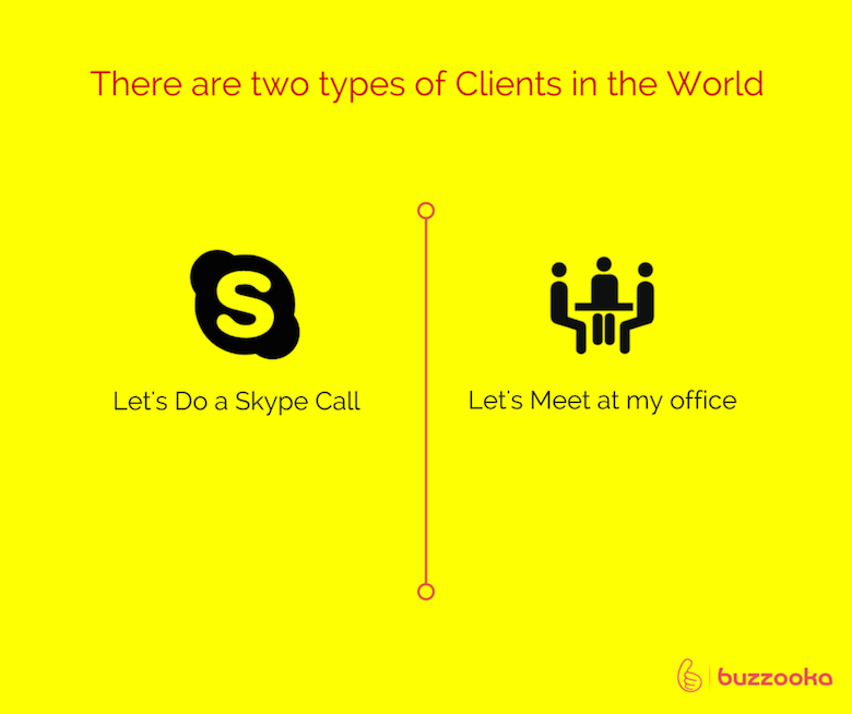 Two types of agency clients / Funny advertising, design projects - 9