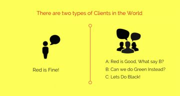 10 Funny Posters That Show The Two Types Of Clients In The World