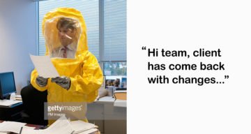 Life In An Agency Shown Through Funny Stock Photos