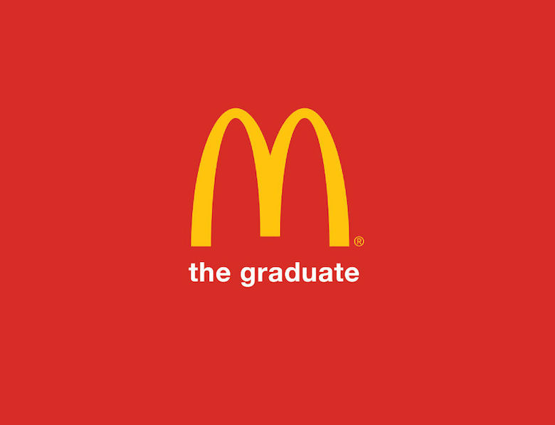 Brand taglines replaced with movie and book titles - McDonald's