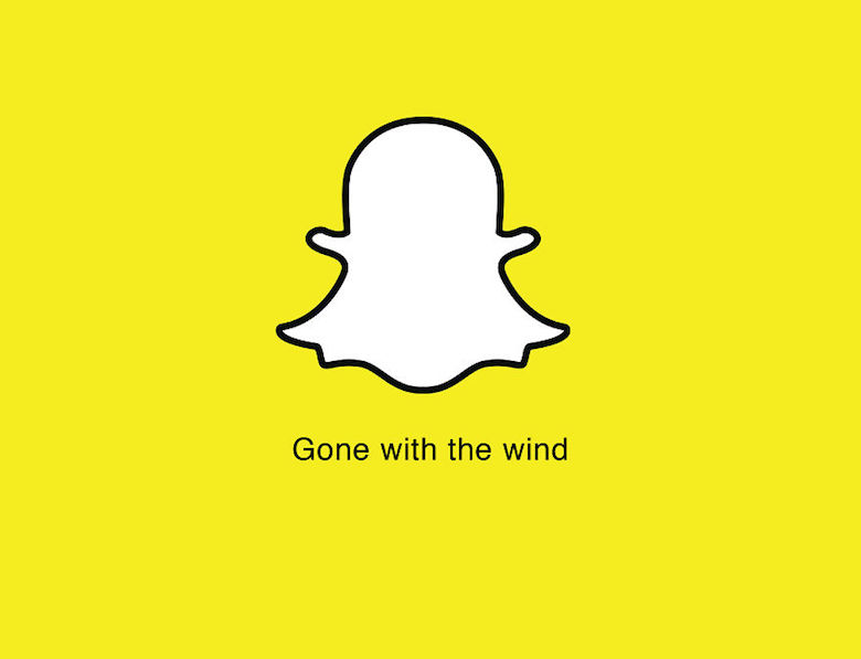 Brand taglines replaced with movie and book titles - Snapchat