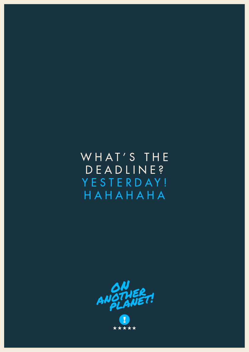 The Client Is Always Right: Funny feedback posters - 9