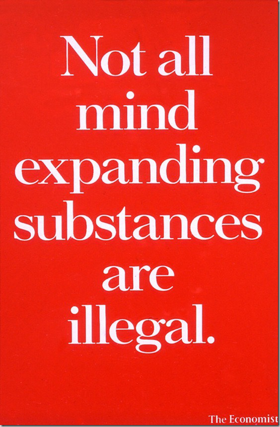 Not all mind expanding substances are illegal. - The Economist