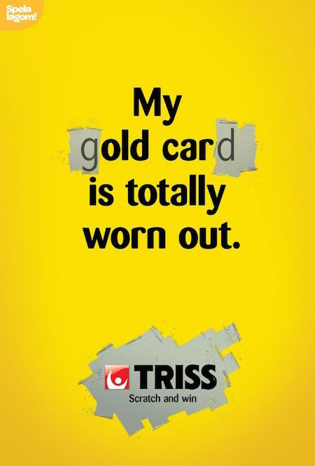 My gOLD CARd is totally worn out. - Triss