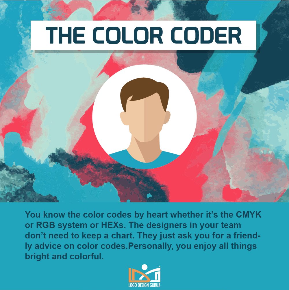 Graphic designer types, skills, personalities and habits - Color Coder